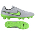Nike Tiempo Legend V FG Soccer Shoes (Wolf Grey/Green)