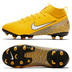 Nike Youth Neymar Superfly 6 Academy MG Soccer Shoes (Yellow)