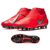 Nike Phantom Vision Academy DF MG Soccer Shoes (Crimson/Silver)