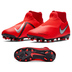 Nike Youth  Phantom Vision Academy DF MG Soccer Shoes (Crimson)