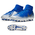 Nike Phantom Vision Club DF MG Soccer Shoes (Racer Blue)