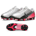 Nike Youth  Vapor Academy NJR MG Soccer Shoes (Chrome/Red)