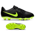 Nike Youth  Phantom Venom Club FG Soccer Shoes (Black/Volt)