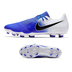 Nike  Phantom Venom Pro FG Soccer Shoes (White/Racer Blue)