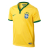 Nike Youth Brazil Soccer Jersey (Home 14/15)