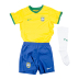 Nike Young Boy Brasil Soccer Jersey Mini Kit (14/16)