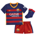 Nike Infant Barcelona Soccer Jersey Mini Kit (Home 15/16)