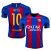 Nike Youth Barcelona  Messi #10 Soccer Jersey (Home Logo 16/17)