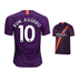 Nike Youth Manchester City Aguero #10 Jersey (Alternate 18/19)