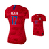 Nike Womens  USA  Tobin Heath #17 USWNT Jersey (Away 19/20)