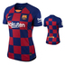 Nike Womens  Barcelona  Soccer Jersey (Home 19/20)
