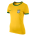 Nike Womens Brazil World Cup 2014 Core Ringer Soccer Tee