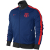 Nike Barcelona Authentic N98 Soccer Track Top (Deep Royal)