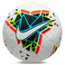 Nike  Merlin  19/20 Match Soccer Ball (White/Blue Fury/Obsidian)