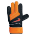 Nike Youth GK Grip Soccer Goalie Glove (Black/Citrus)