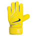 Nike Youth GK Grip Soccer Goalie Glove (Yellow/Black)