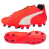 Puma evoSpeed 3.4 Leather FG Soccer Shoes (Lava Blast)