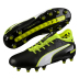 Puma evoTOUCH  2 FG Soccer Shoes (Black/Safety Yellow)
