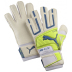 Puma Powercat 2.12 Protect Soccer Goalie Glove (White/Neon)