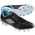 Umbro Speciali Premier 3 HG Soccer Shoes (Black/White/Blue)