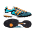 Warrior Skreamer Combat Turf Soccer Shoes (Blue/Marigold)
